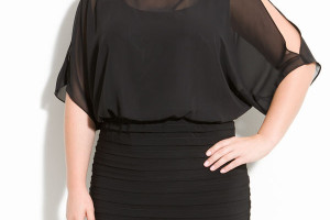 Fashion , 11 Little Black Dresses Plus Size Women : little black dresses plus size