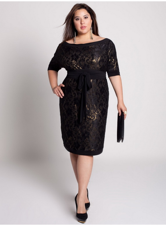11 Little Black Dresses Plus Size Women in Fashion