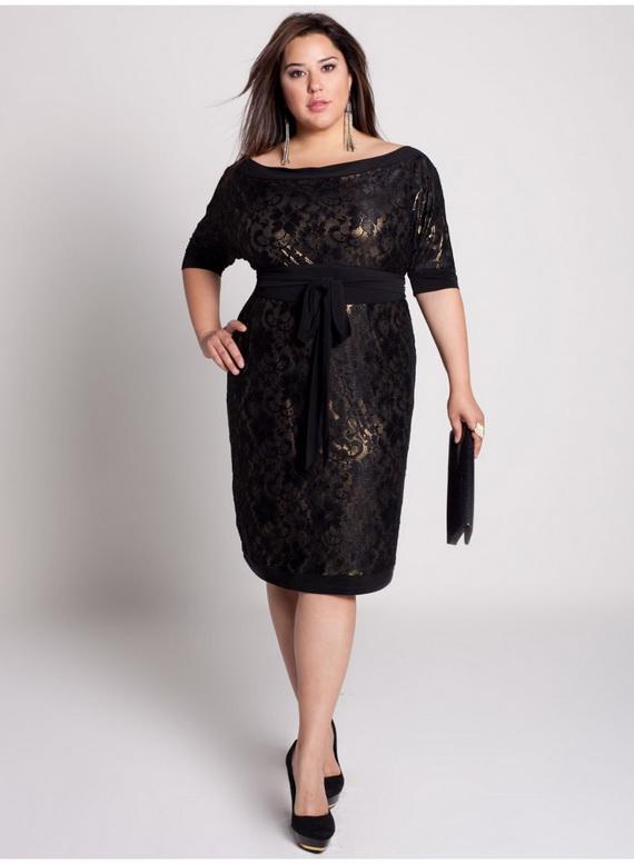 11 Little Black Dresses Plus Size Women in Fashion