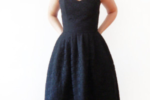 Fashion , 7 Little Black Bridesmaid Dress : little black lace dress bridesmaids dress