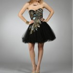 little black prom dress , 10 Little Black Homecoming Dresses In Fashion Category