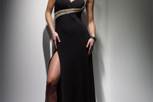 600x800px 10 Sexy Long Black Dress Picture in Fashion