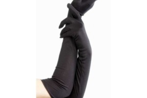 Fashion , 6 Long Black Dress Glove : long black dress up gloves