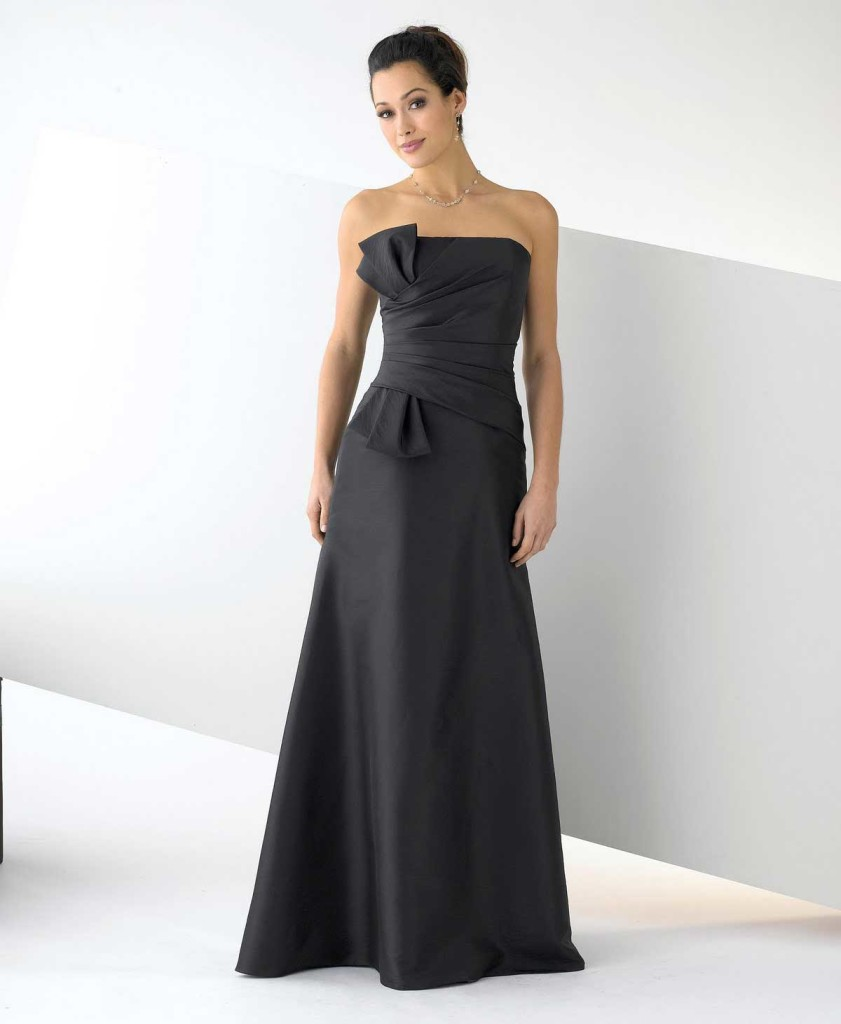 6 Long Black Dresses For A Wedding in Fashion