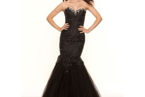 Fashion , 8 Long Black Mermaid Dress : long black dresses for weddings
