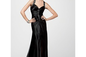 Fashion , 10 Sexy Long Black Dress : long black formal dress