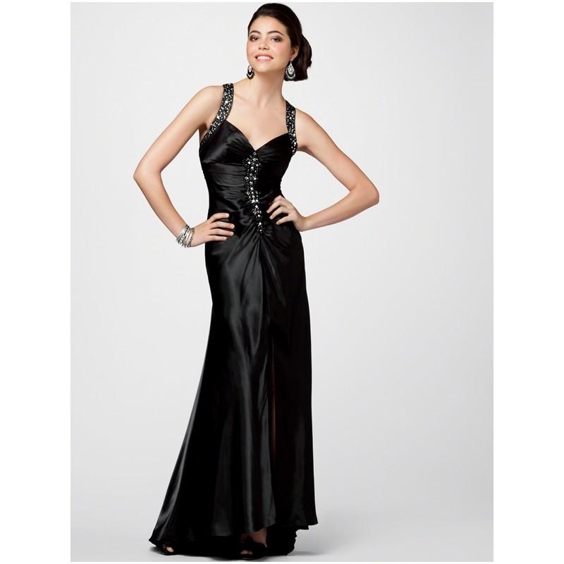 Fashion , 10 Sexy Long Black Dress : Long Black Formal Dress