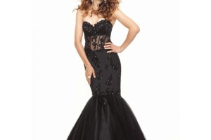 Fashion , 8 Long Black Mermaid Dress : long black mermaid dress