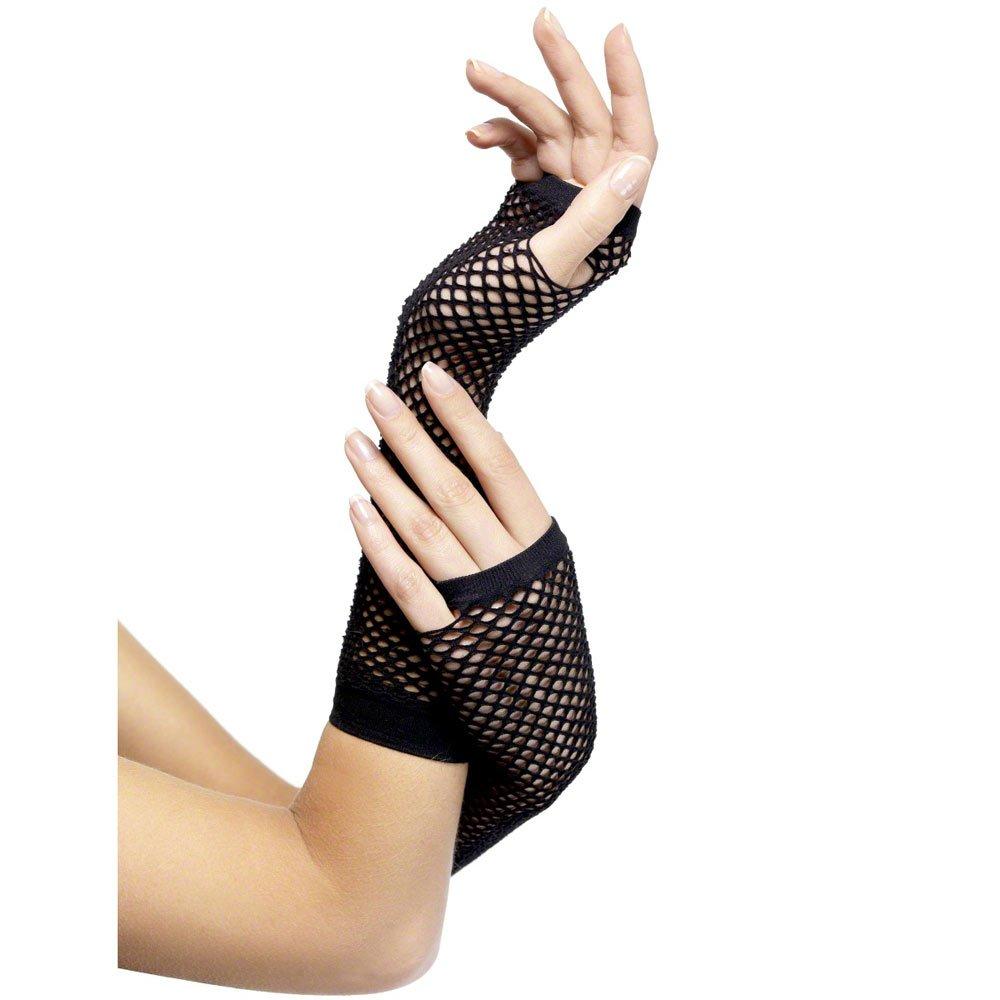 Black dress up gloves - Large 1000 X 1000