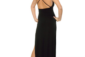 1008x1257px 10 Sexy Long Black Dress Picture in Fashion