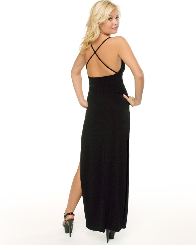 Fashion , 10 Sexy Long Black Dress : Long Black Sexy Dress