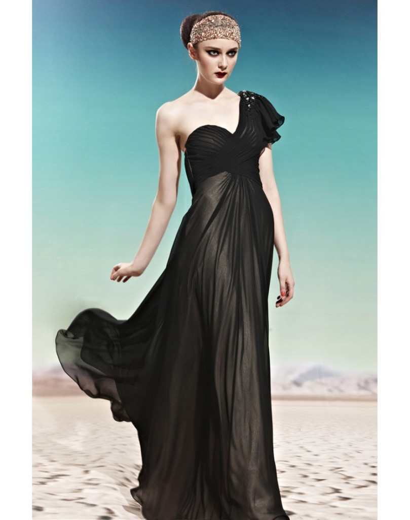 Fashion , 10 Sexy Long Black Dress : Long Black Sexy Dresses