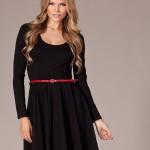 Long Sleeve Skater Dress , 7 Long Sleeve Black Skater Dress In Fashion Category