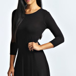 Long Sleeved Lace Dress , 7 Long Sleeve Black Skater Dress In Fashion Category