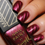 magnetic burgundy nail polish , 8 Magnetic Nail Polish Designs In Nail Category