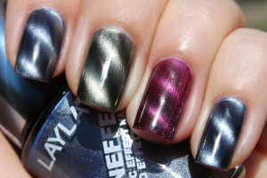 Nail , 8 Magnetic Nail Polish Designs : magnetic nails polish craetion
