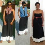 maxi dress worn different ways , 6 Trick How To Wear A Long Black Maxi Dress In Fashion Category