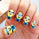 minion nails art design , 7 Cartoon Nail Designs In Nail Category