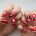 minnie mouse nail art , 5 Minnie Mouse Nail Art In Nail Category