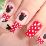 minnie mouse nail art cutepolish , 5 Minnie Mouse Nail Art In Nail Category