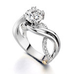 modern-engagement-ring-ideas , Wedding Ring Idea For Women In Wedding Category