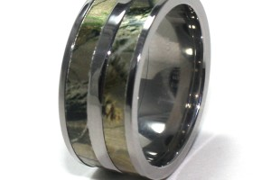 Jewelry , Mossy Oak Camo Wedding Rings : mossy oak camo wedding rings titanium