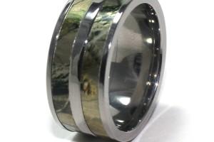 Jewelry , Mossy Oak Camo Wedding Rings : mossy oak camo wedding rings titanium
