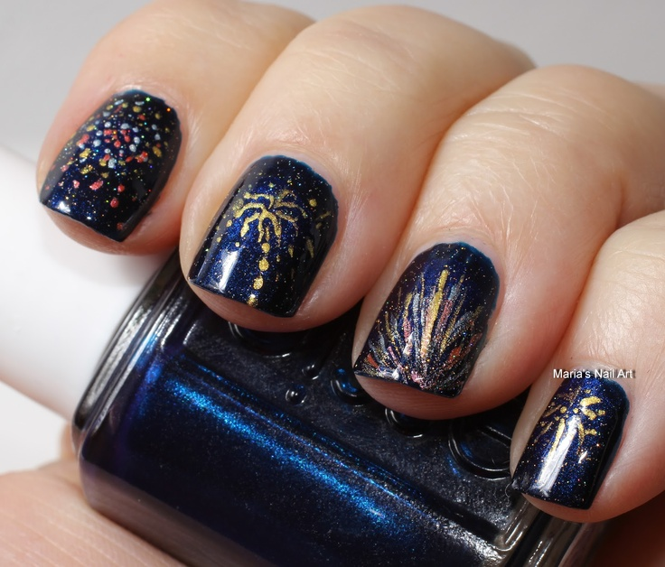 Nail art designs for new years eve 7 new years eve nail designs large 736 x 628 prinsesfo Image collections