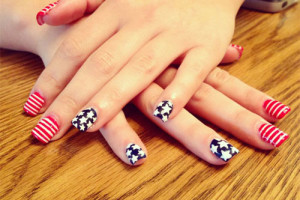 500x500px 6 Fourth Of July Nail Designs Picture in Nail