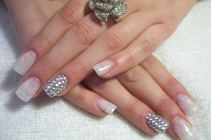Nail , 5 Nail Designs With Diamonds : nail designs with diamonds
