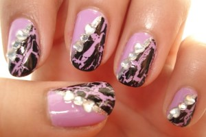 Nail , 6 Crackle Nail Designs : nail polish trend crackle