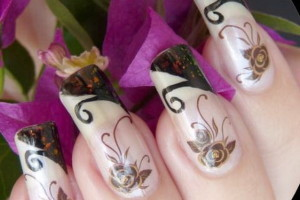 Nail , 7 New Years Eve Nail Designs : new year nail art design
