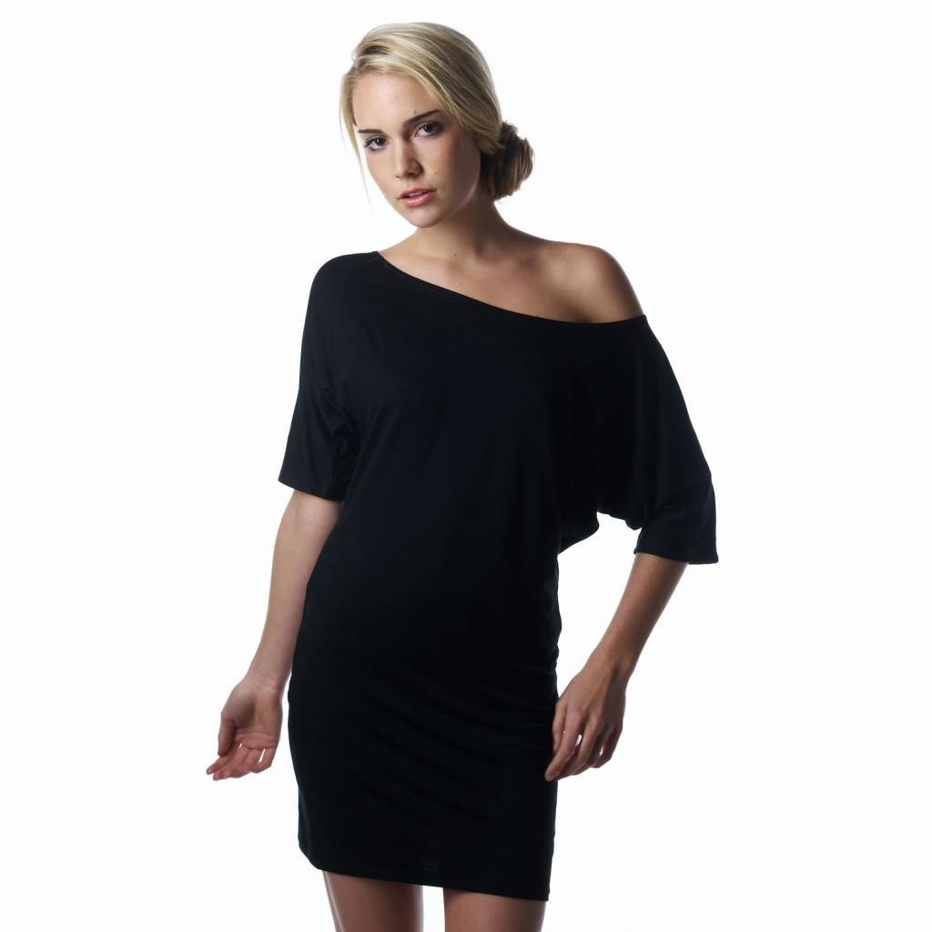 6 Off The Shoulder Little Black Dress in Fashion