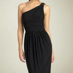 one shoulder dress , 9 Styles Of One Shoulder Little Black Dress In Fashion Category