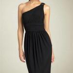one shoulder dress , 9 Styles Of One Shoulder Little Black Dress In Fashion Category