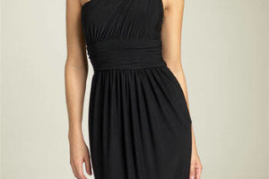 Fashion , 9 Styles Of One Shoulder Little Black Dress : one shoulder dress