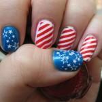 patriotic nail art design , 6 Patriotic Nail Art Designs In Nail Category