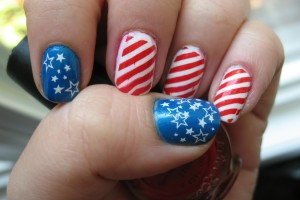 Nail , 6 Patriotic Nail Art Designs : patriotic nail art design