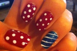 Nail , 6 Patriotic Nail Art Designs : patriotic pedicure designs
