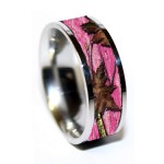 Pink Camo Wedding Rings Stone , Pink Camo Wedding Rings In Wedding Category