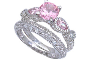 Wedding , Pink Camo Wedding Rings : pink-camo-wedding-rings with real diamonds
