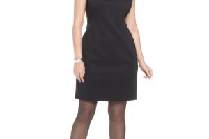 736x901px 11 Little Black Dresses Plus Size Women Picture in Fashion