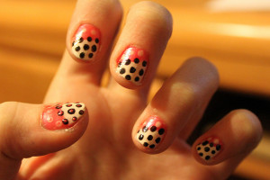 640x476px 8 Polka Dot Nail Designs Picture in Nail
