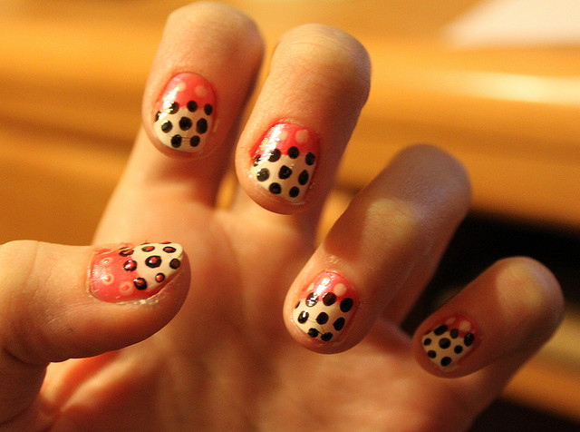 Nail , 8 Polka Dot Nail Designs : Polka Dot Nails Tumblr