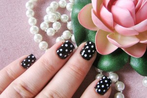 Nail , 8 Polka Dot Nail Designs : polka dots Exciting Nail Polish Designs