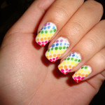 polka dots nail , 8 Polka Dot Nail Designs In Nail Category
