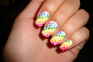 640x480px 8 Polka Dot Nail Designs Picture in Nail