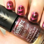 pretty pink magnetic nail polish , 8 Magnetic Nail Polish Designs In Nail Category