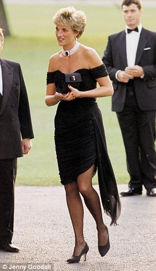 4 Princess Diana Little Black Dress in Fashion