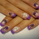 prom nails polish art , 6 Purple Prom Nail Designs In Nail Category
